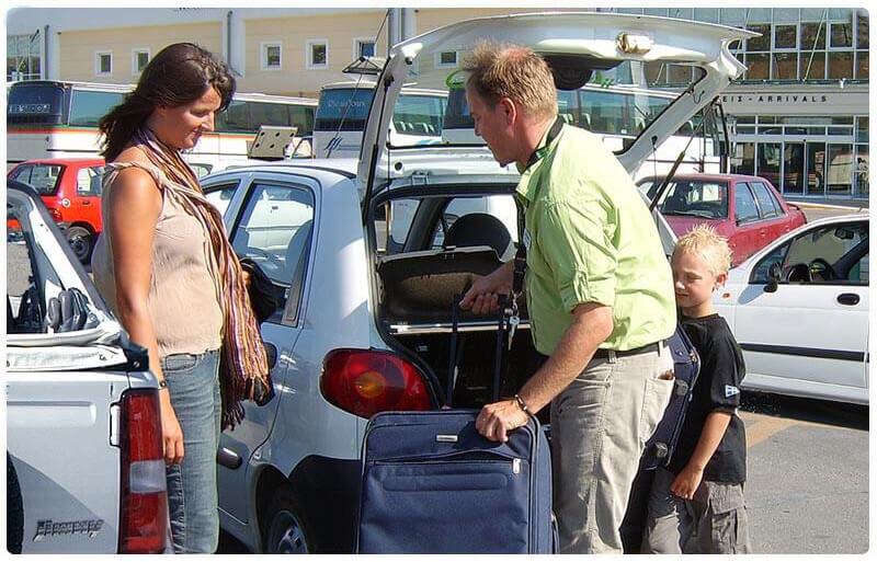 idrive autovermietung Airport service